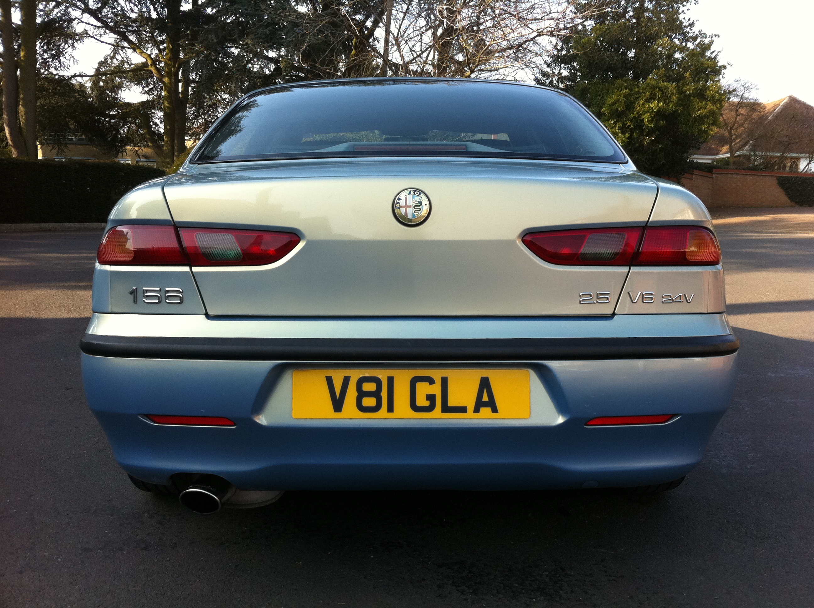 Alfa Romeo 156 2 5 V6 24v 4dr Full Leather Full Service