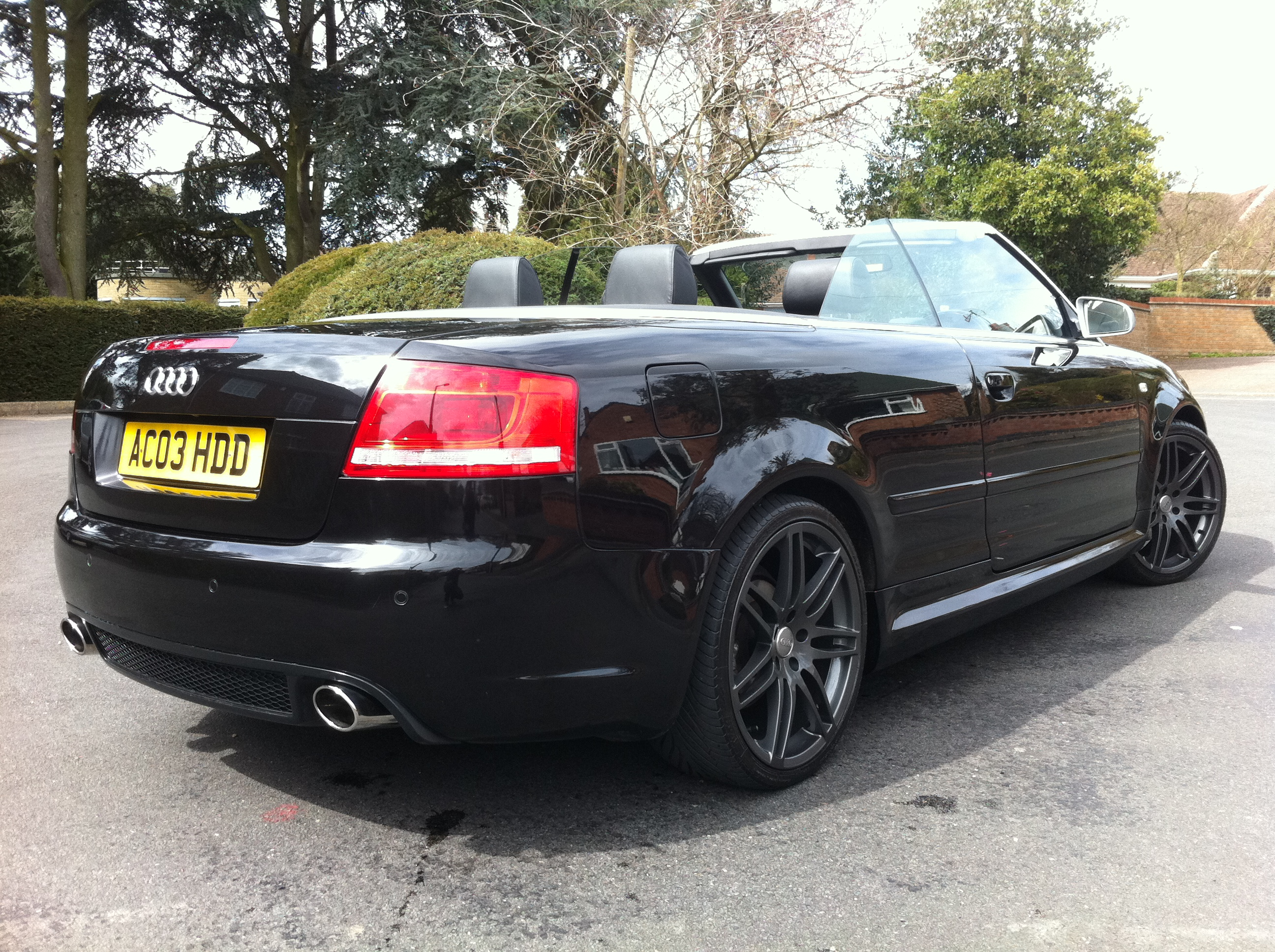 AUDI A4 3.0 SPORT 2DR RS4 REPLICA / WIDESCREEN SAT NAV / FULL NAPPA LEATHER / FULL HISTORY - TJ ...