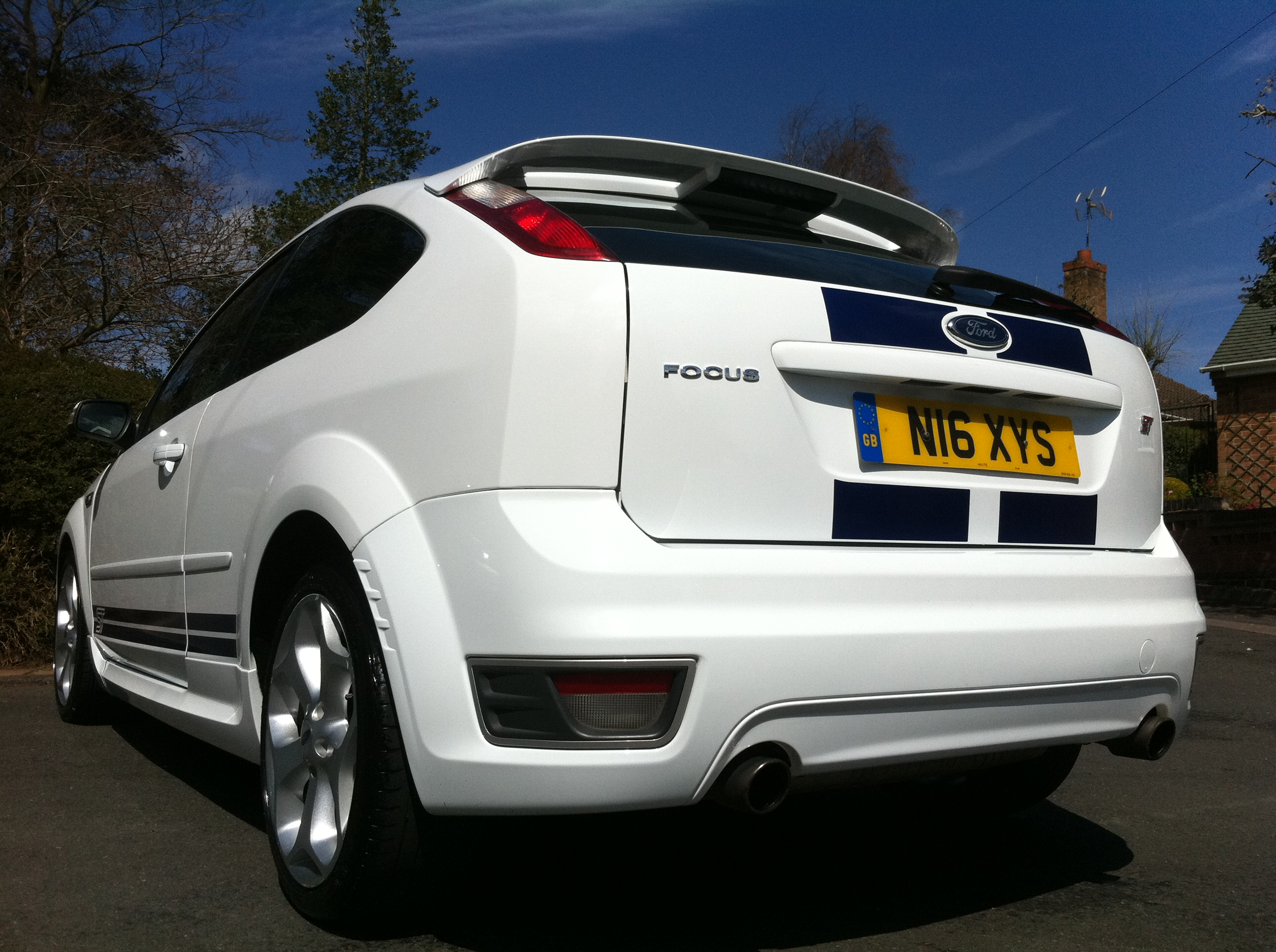 FORD FOCUS 2.5 ST-2 3DR 1 OWNER FROM NEW / FULL FORD ...