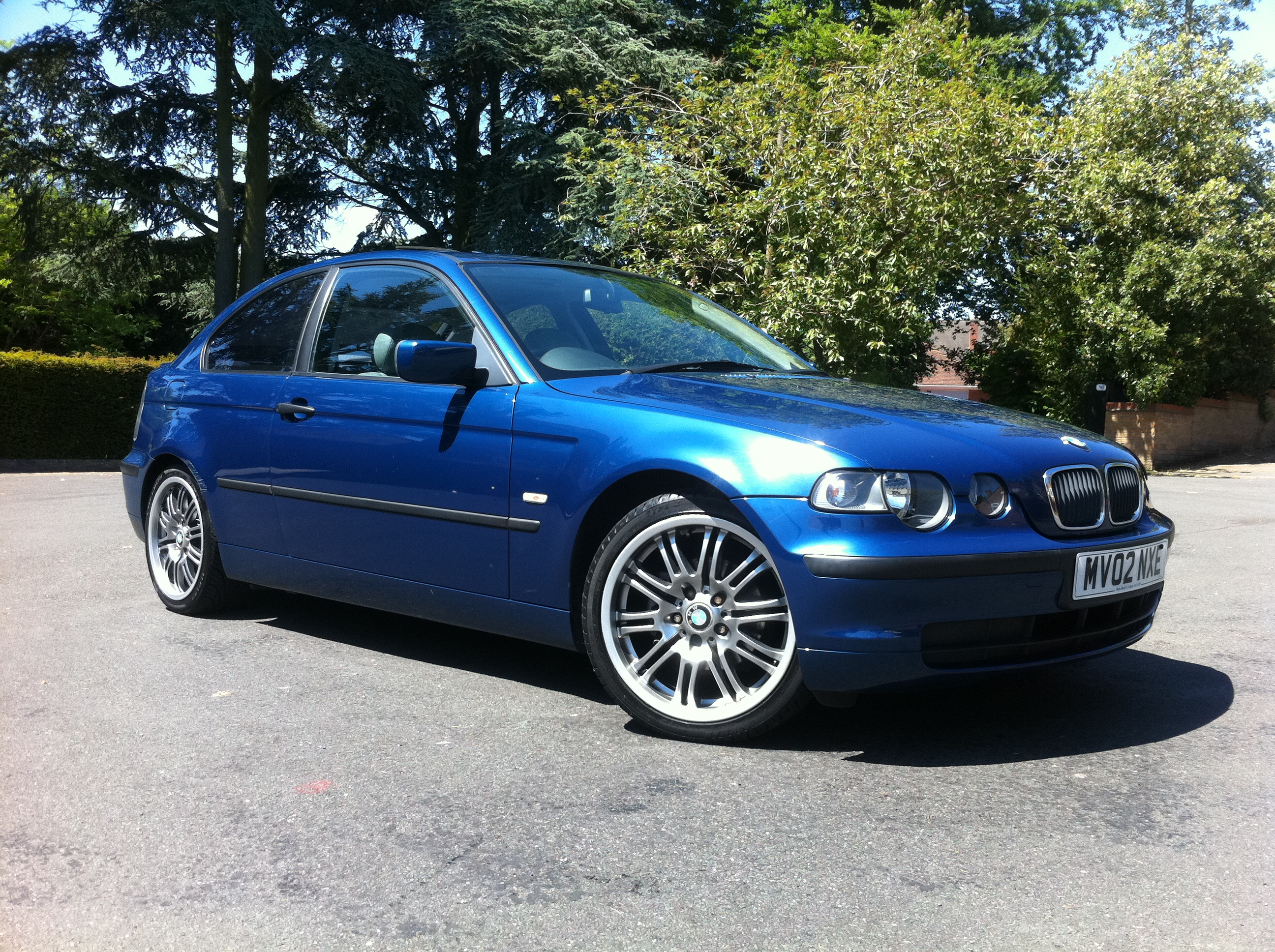 bmw 3 series 316ti 3dr low mileage full grey leather 18. Black Bedroom Furniture Sets. Home Design Ideas