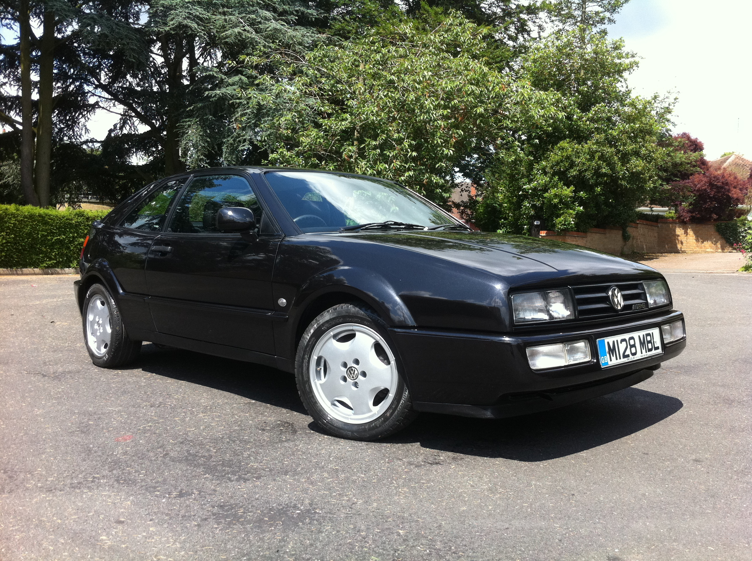 volkswagen corrado 2 9 vr6 3dr karmann full black leather sunroof tj sports and prestige. Black Bedroom Furniture Sets. Home Design Ideas