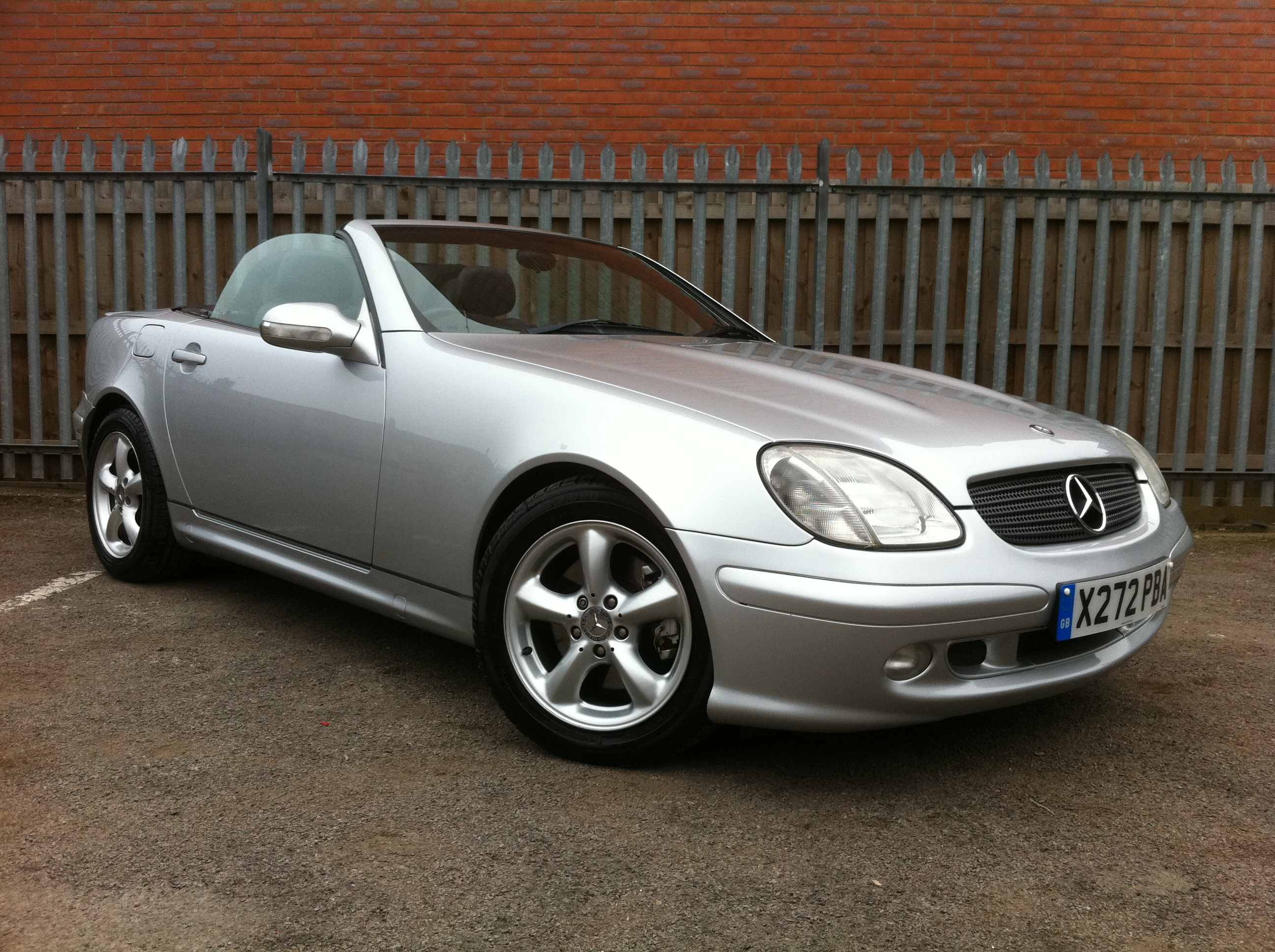 Mercedes Benz Slk 320 2dr Tip Auto Convertible Full